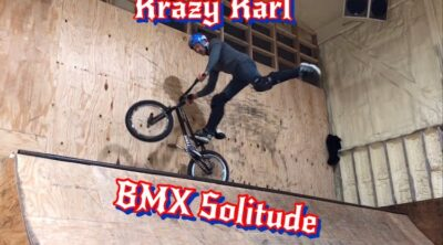 Karl Hinkley BMX Solitude video