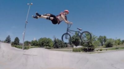 Mat Olson 2019 BMX video