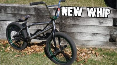 Matt Ray Quarantine Bike Build BMX video