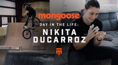 Nikita Ducarroz Day In The Life BMX video Mongoose