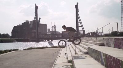 Verde BMX Pierre Hinze Germany BMX video