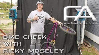 Ricky Moseley Video Bike Check BMX