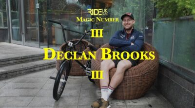 Ride UK BMX Declan Brooks Magic Number BMX video