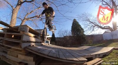 S&M Bikes Charlie Crumlish Stay Home BMX video