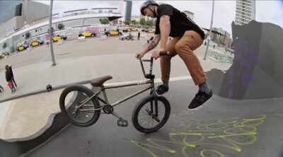 A Long Shot Barcelona BMX video