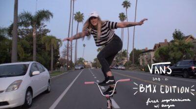 Angie Marino Vans Sk8 Hi Pro BMX