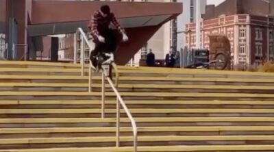 Ben Gordon BMX video