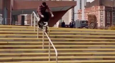 Ben Gordon BMX video