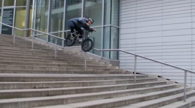 Ben Gordon Stuttgart To BCN BMX video