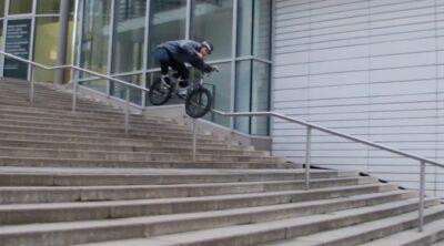 Ben Gordon Stuttgart To BCN BMX video