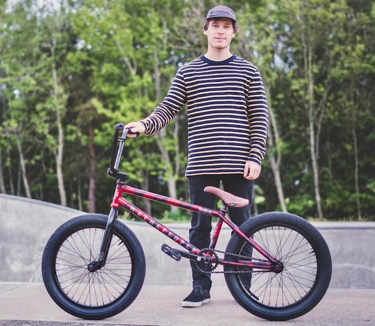 Brad McNicol BMX Bike Check Wethepeople