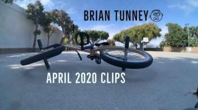Brian Tunney April 2020 BMX video