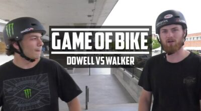 Colton Walker Justin Dowell Game of BIKE BMX