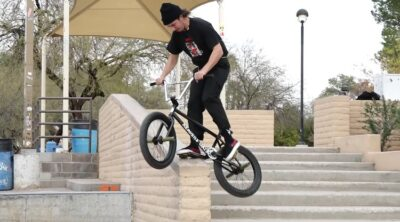 Cult BMX Brandon Begin Knock 'Em Down BMX video