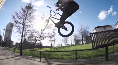 Dan Banks New Guy In Town BMX video