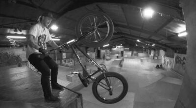 Jack Hall Boneyard Skatepark BMX video