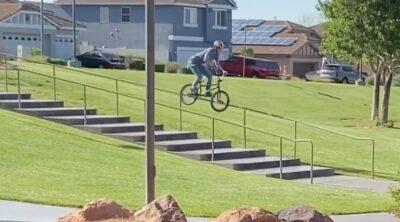 Jonathan Bronson BMX video
