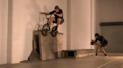 Lux BMX Warehouse Session BMX video