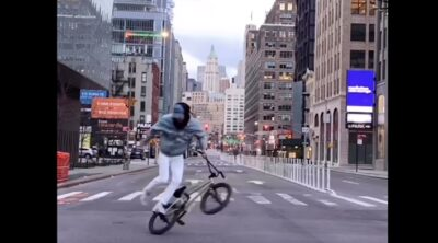 Matthias Dandois I Love New York BMX
