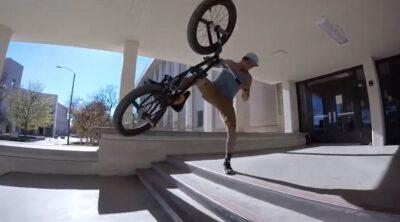 Michael Jimenez BMX video