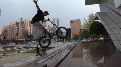 Michal Kovacovic Chengdu BMX video