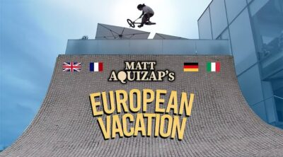 SM Bikes Matty Aquizap European Vacation BMX video