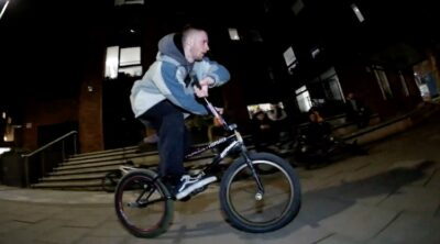 Yate Tape Bristolian Winter BMX video