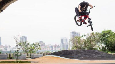 Archie Kenward India Taipei BMX video