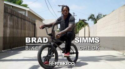 Brad Simms BMX bike check Fit Bike Co.