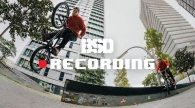 BSD Recording BMX video