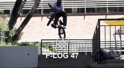 Fit Bike Co F-Log Charles Littlejohn Brad Simms BMX