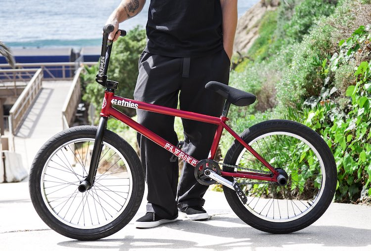 Devon Smillie BMX bike check Flybikes Fuego