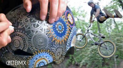 GT BMX Mason Ritter Art Tips Trail Rips