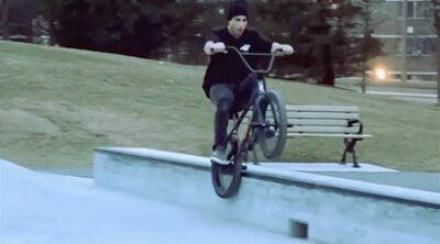 Mike Gray BMX video