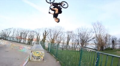 Mike Hullock Fuse Protection BMX video