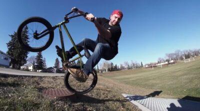 Weird Revered Vagabond Squad Ontario BMX video