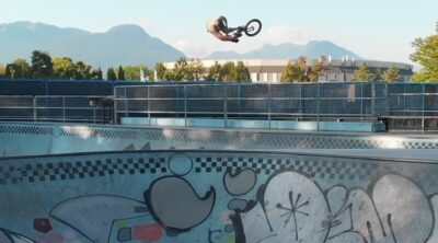 Adam Cox Killing My Time In Canada BMX video