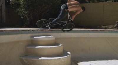 United BMX Andrew Lazaruk In The Deep End BMX video