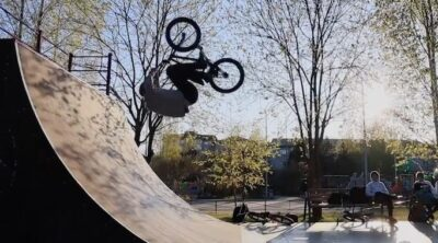 Anton Phillipov BMX video