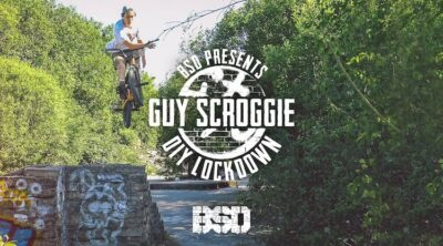 BSD Guy Scroggie DIY Lockown BMX video