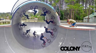 Colony BMX Chris James Take A Ticket BMX video