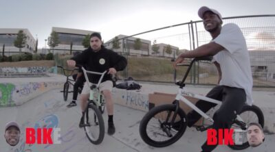 Courage Adams VS Luis Lillo Game of BIKE BMX