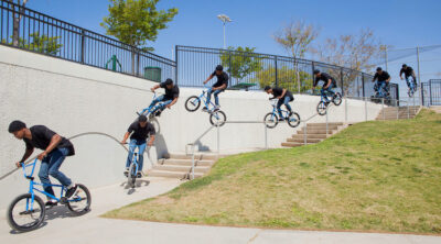 Demarcus Paul Off Volume Bikes BMX