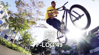 Fit Bike Co F-Log Campus Cruisin Ethan Corriere