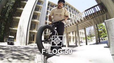 Fit Bike Co F-Log Riding With Boys BMX video