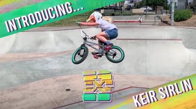 Fit Bike Co Keir Sirlin BMX video