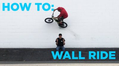How To Wallride On A BMX bike