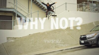 Nathan Williams Why Not Trailer BMX video