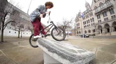 Pasha Sitko BMX video