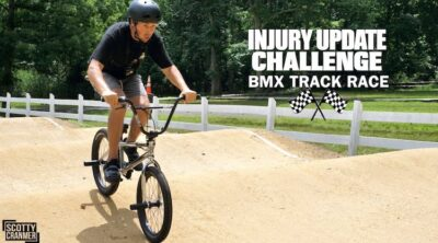 Scotty Cranmer Injury Update BMX video